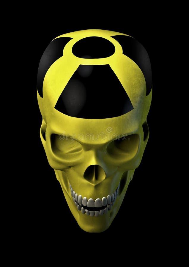 horror jądrowy ilustracja wektor