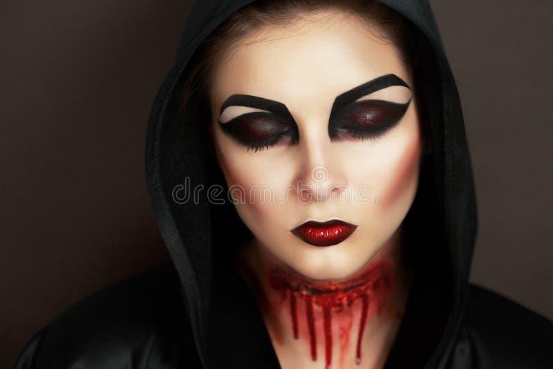 Horror kobieta zdjęcie royalty free