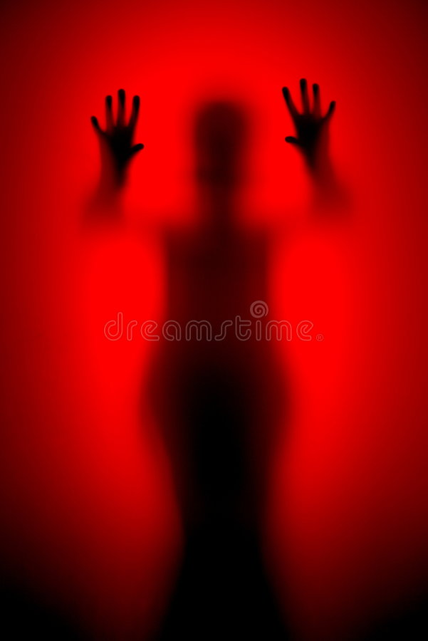 Horror movie scene royalty free stock images