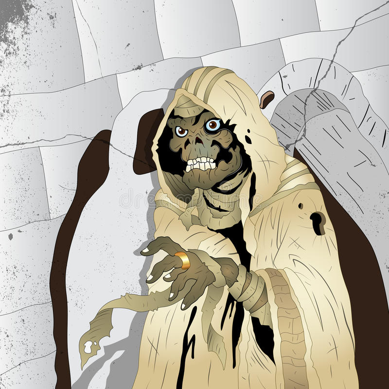 Download Horror Mummy stock vector. Image of horrible, gothic - 24472191