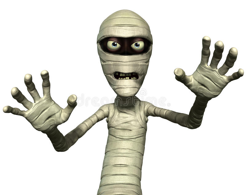 Download Horror mummy stock illustration. Image of creature, spooky - 26792120