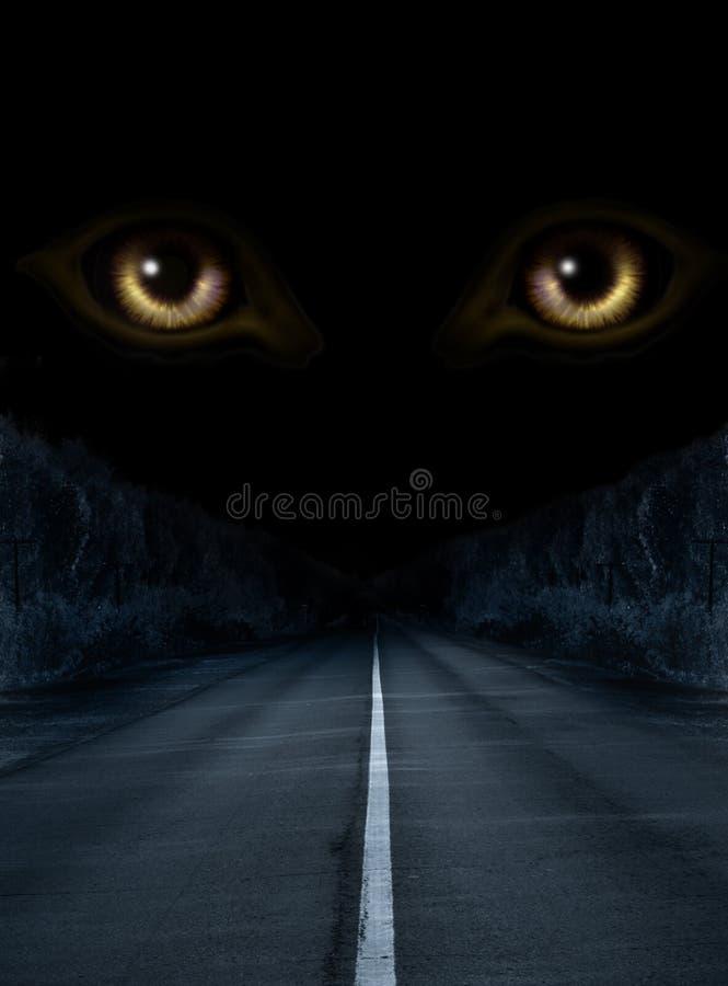 Horror in night. Dark series - horror in night