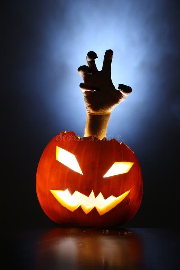 Free Horror Pumpkin Royalty Free Stock Photos - 7087228