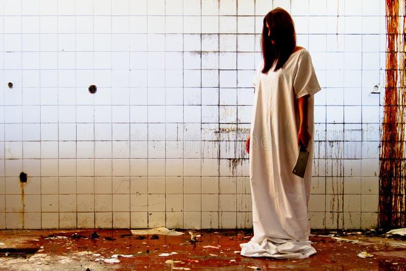 Horror scene royalty free stock photos