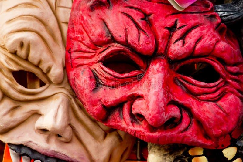 Horrormaske lizenzfreies stockfoto