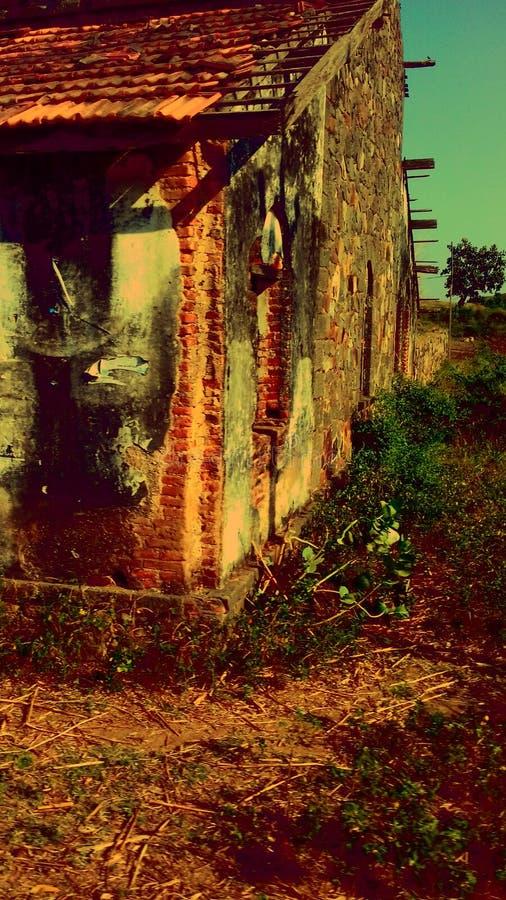 Horroru dom India zdjęcie royalty free