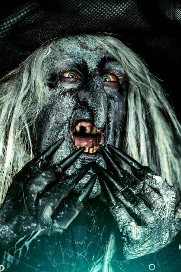 Horroru Halloween film obrazy royalty free
