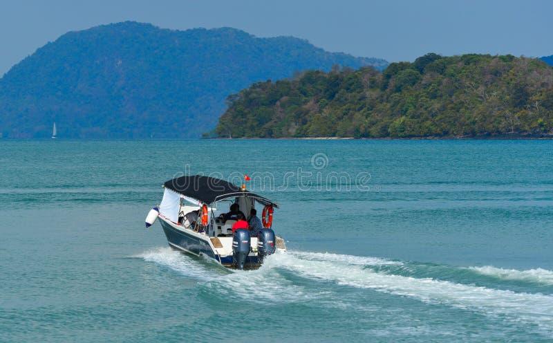 Hors-bord de marine malaisienne royale images libres de droits