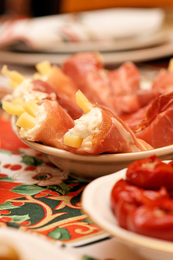 Hors-d'oeuvres italien photographie stock