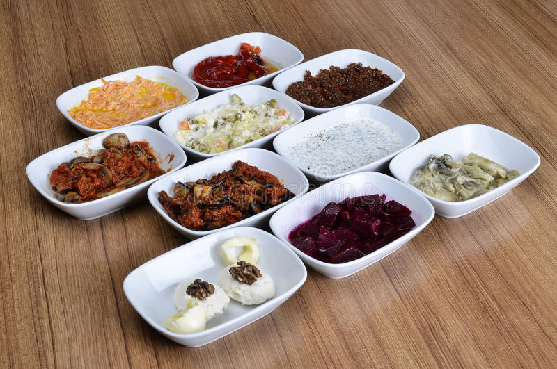 Hors-d oeuvres turcs