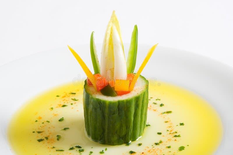 Hors-d'oeuvres végétarien photo libre de droits