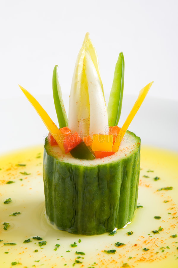 Hors-d'oeuvres végétarien images stock