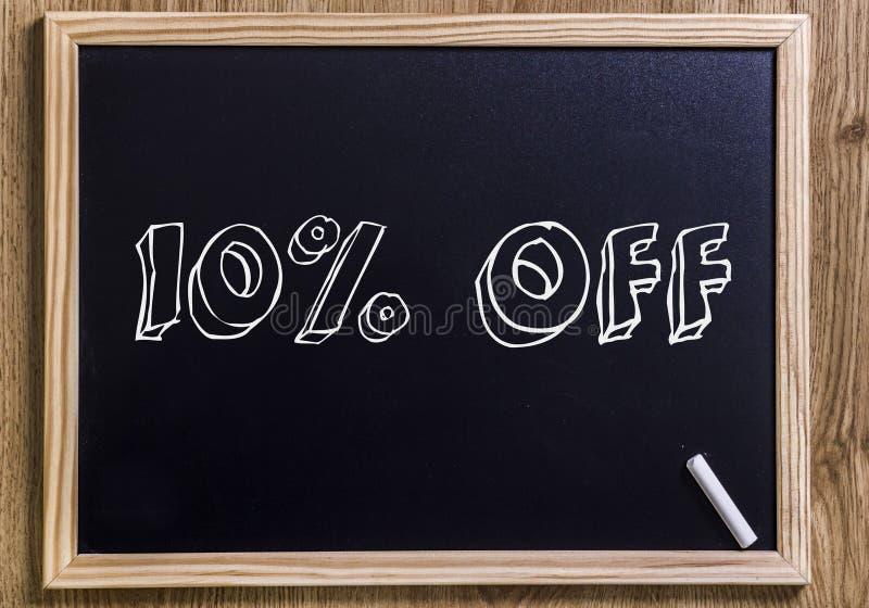 10% hors fonction photo libre de droits