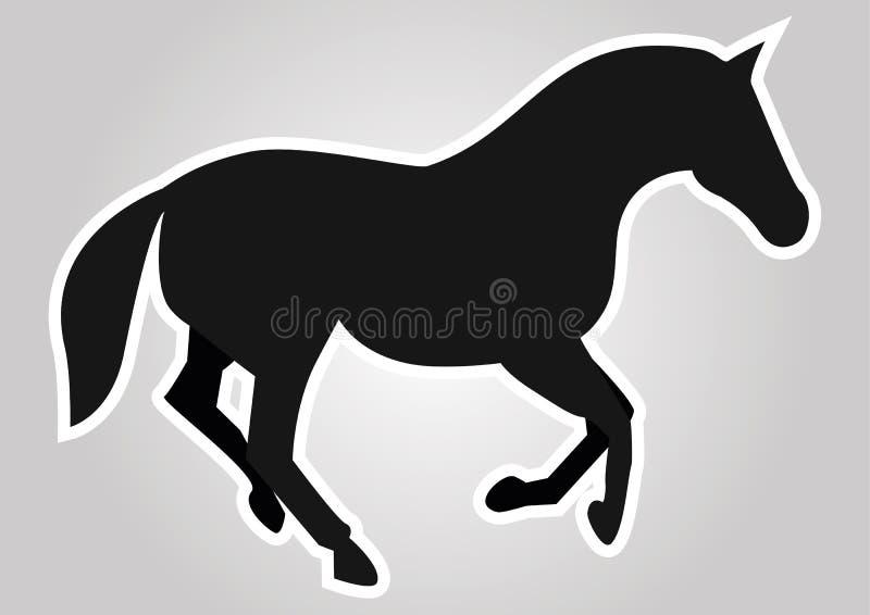 Download The horse stock vector. Image of farm, wild, gallop, horseback - 23540348