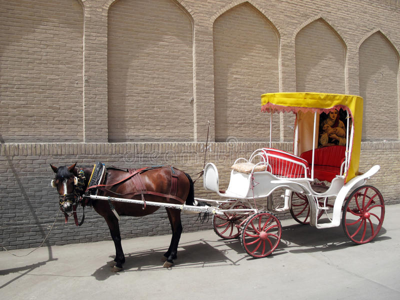 Download Horse carriage stock photo. Image of decorated, iran - 14459976