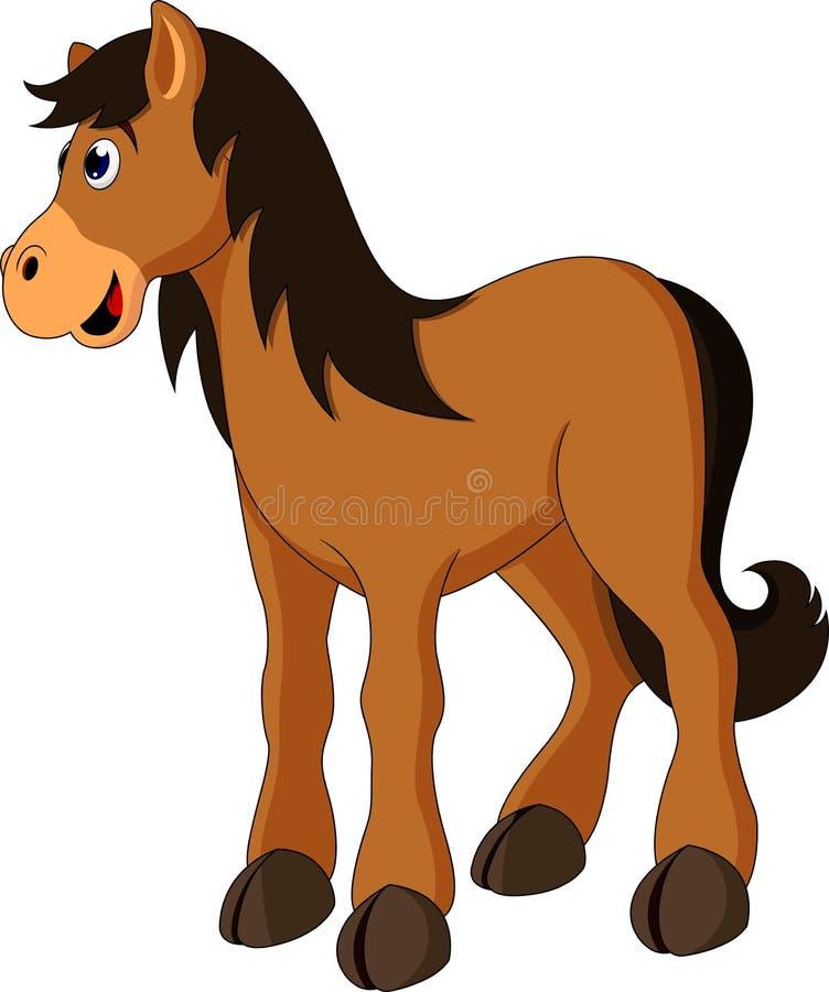 Horse Cartoon Stock Photo