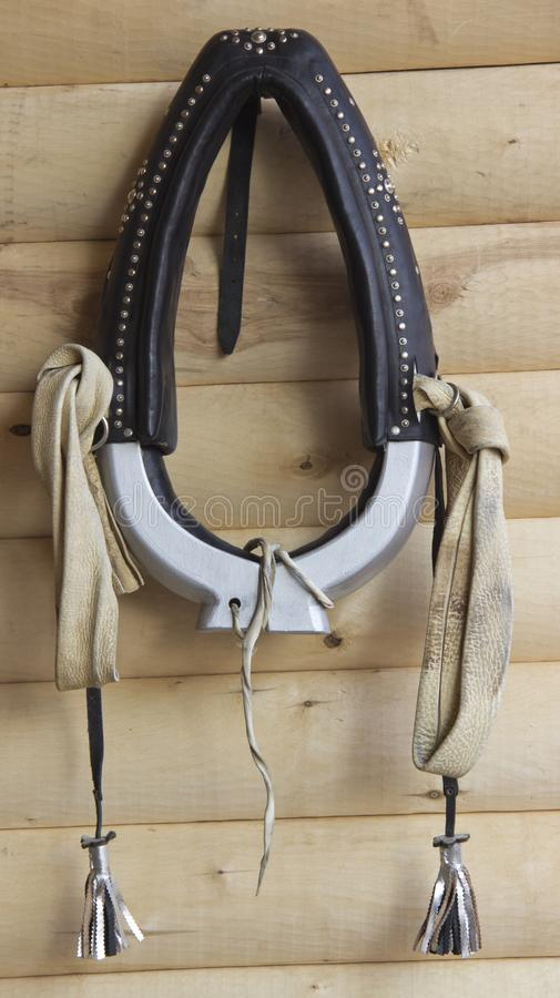 A horse collar royalty free stock image