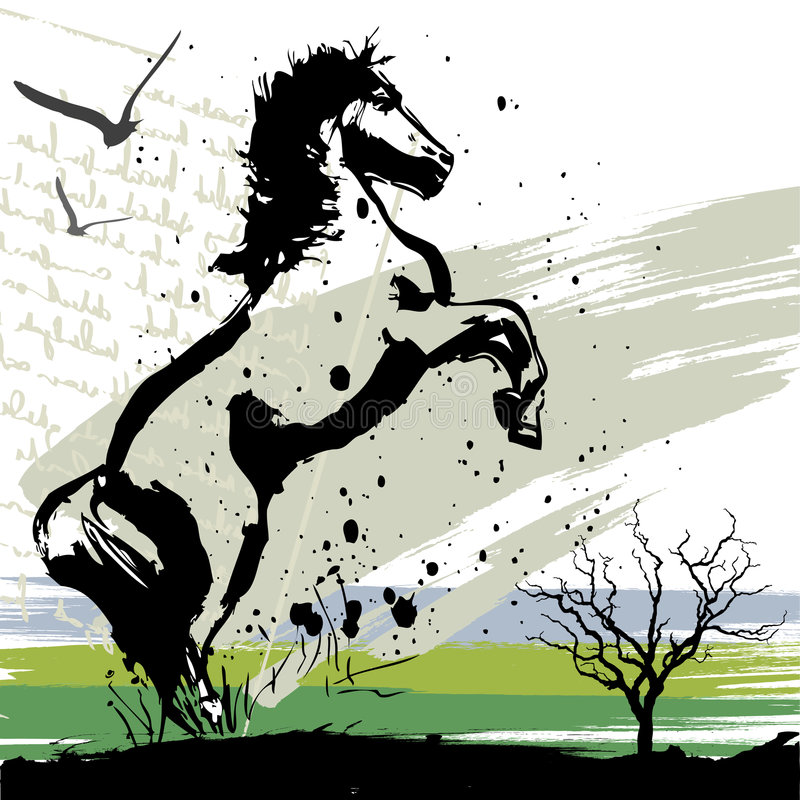 Download Horse design vector stock vector. Illustration of arabian - 8832242
