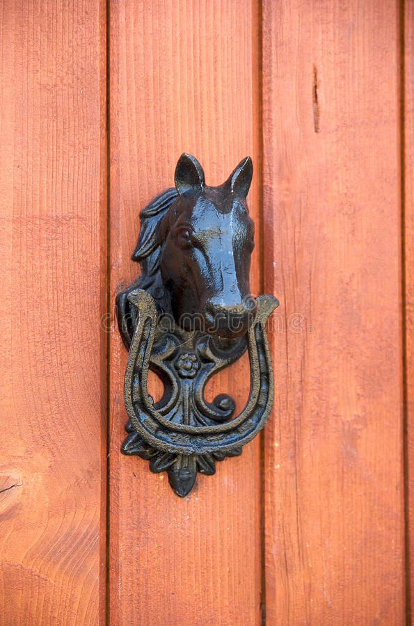 Download Horse Door Knocker Stock Photo. Image Of Safety, Tourism   10934262