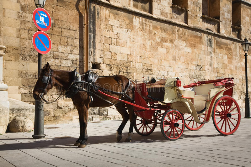 Download Horse-drawn carriage stock image. Image of cart, carriage - 18477323