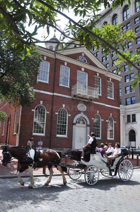 Horse drawn carriage tours in Philadelphia