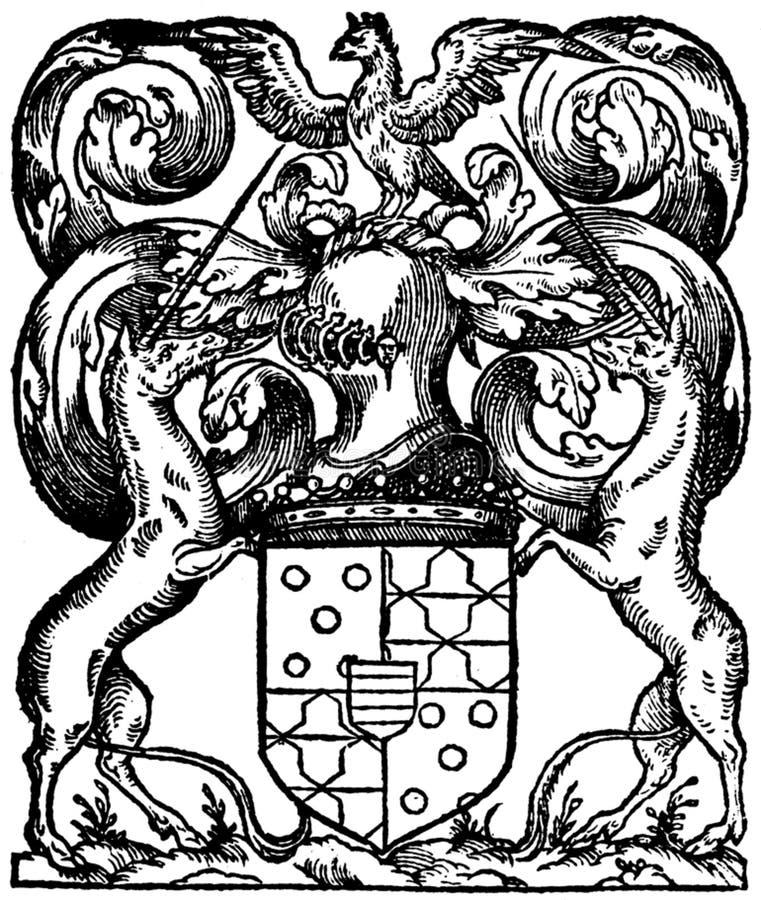 Horse And Eagle Crest Free Public Domain Cc0 Image