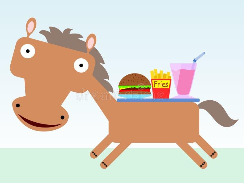 Fast Running Horse Vector Tattoo Mascot Stock-Vektorgrafik (Lizenzfrei)  98456852