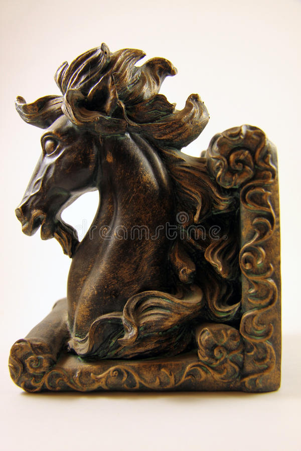 Free Horse Head Book End Royalty Free Stock Images - 58393679