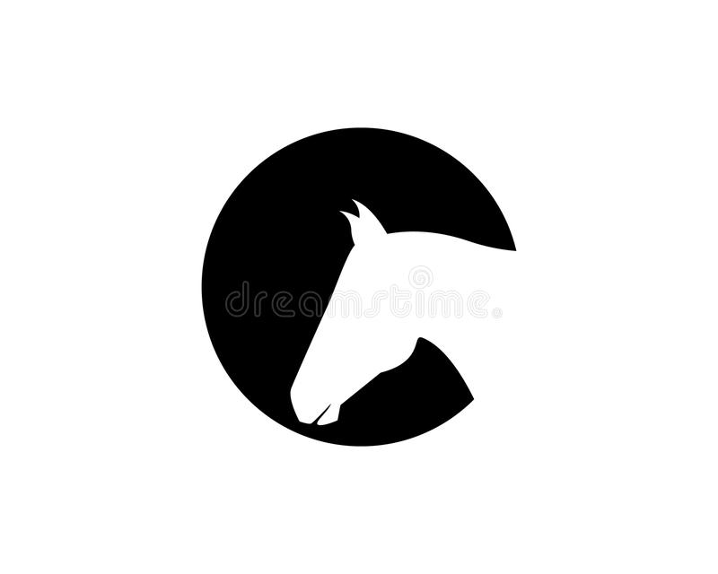 horse head logo template vector icons app stock vector rh dreamstime com horse head logo on italian leather bag horse head logo designs