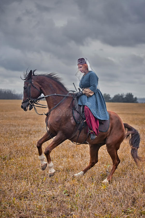 Download Horse-hunting With Ladies In Riding Habit Editorial Photography - Image: 34424252