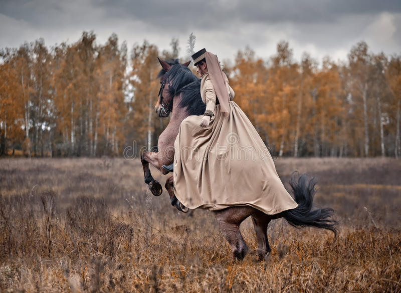 Download Horse-hunting With Ladies In Riding Habit Editorial Image - Image: 34424270