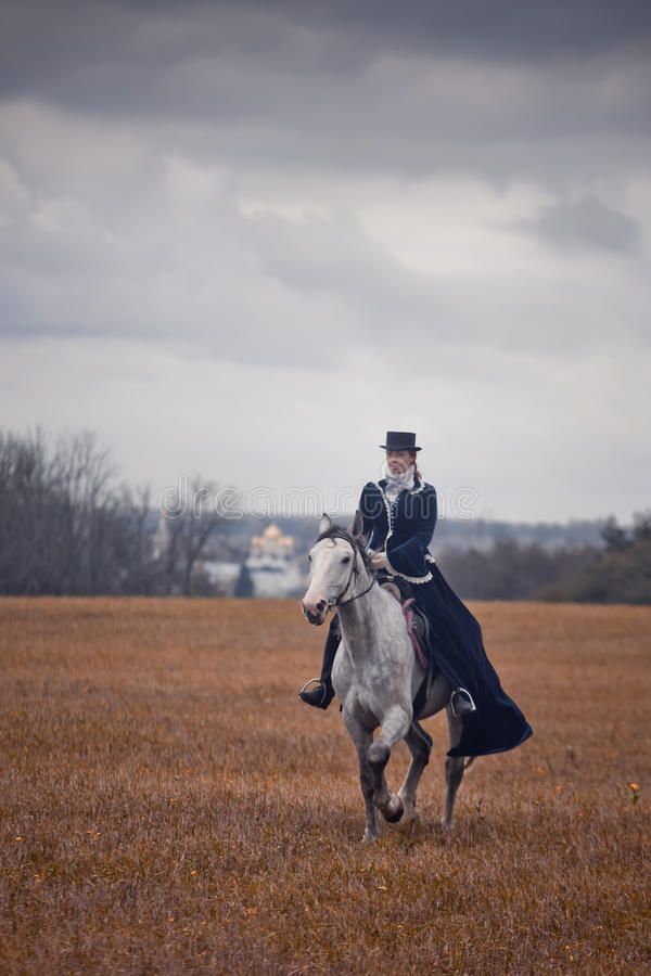 Download Horse-hunting With Ladies In Riding Habit Editorial Stock Image - Image: 34424354