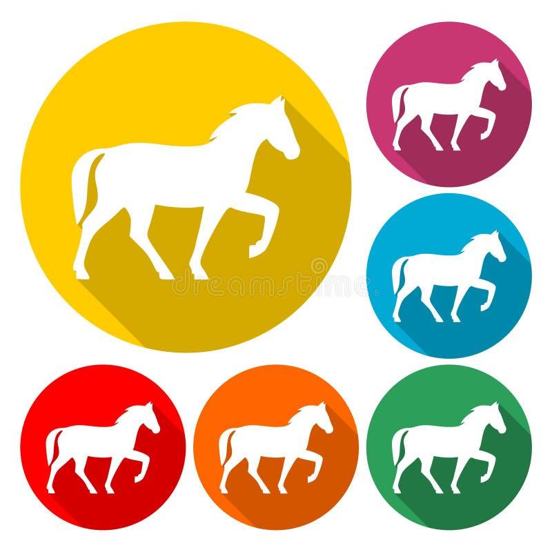 Horse icon - vector Illustration stock illustration