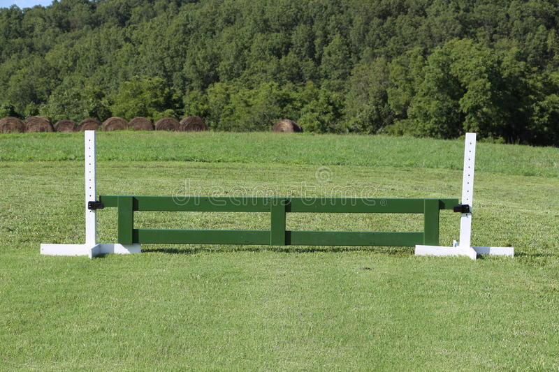 Horse Jump Gate Equestrian Stock Photo Image Of Schooling