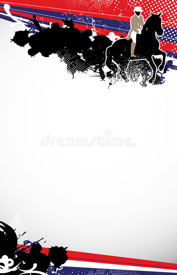 Download Horse jumping stock illustration. Image of rein, mane - 25639744