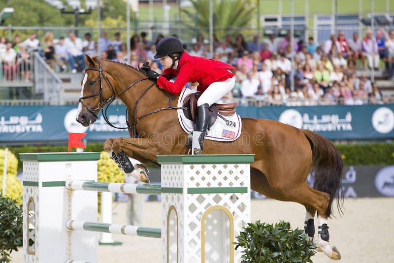 Horse jumping - Katherine Dinan
