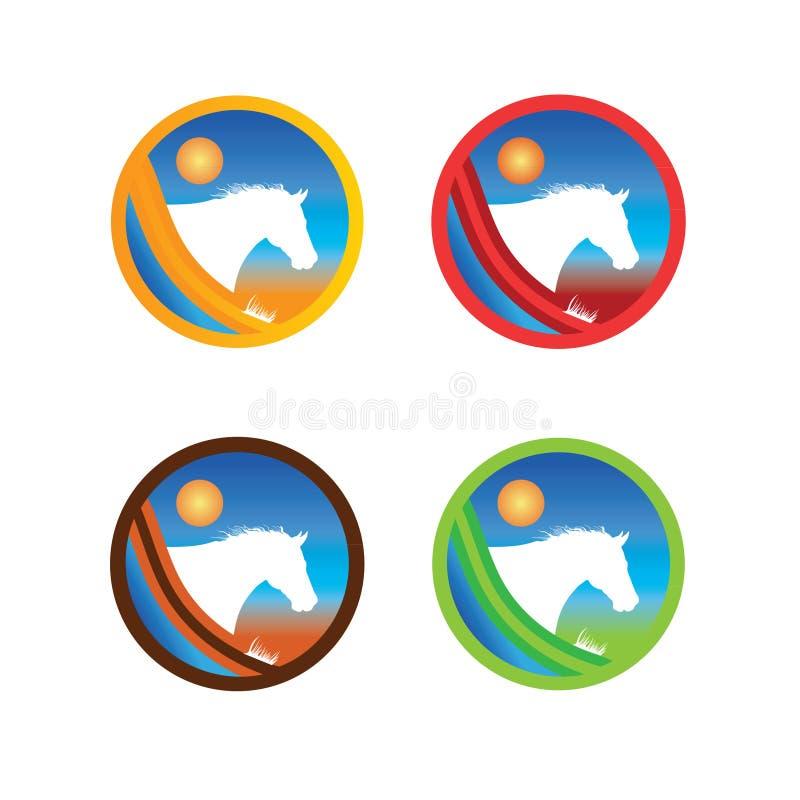 Download Horse logo stock vector. Image of mascots, circle, illustration - 16479101
