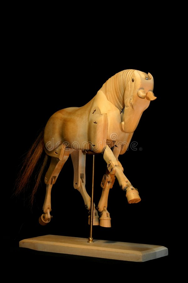 Download Horse Mannequin Trot Stock Photography - Image: 798802
