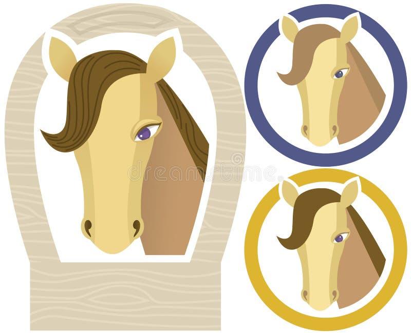 Horse muzzle royalty free stock photography