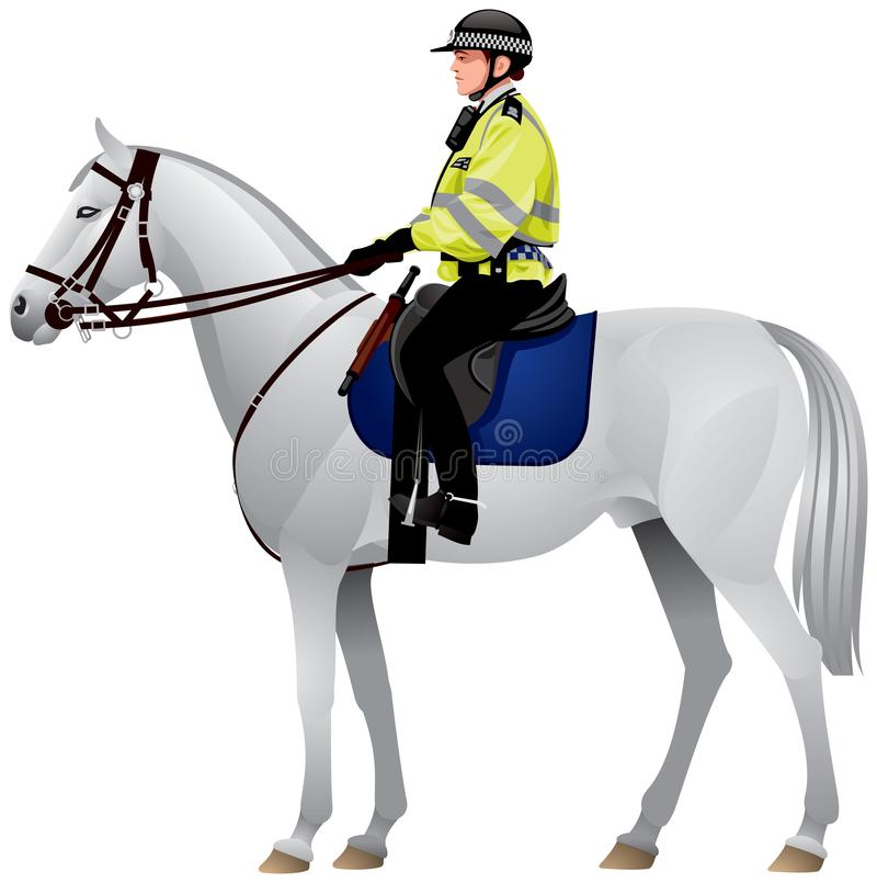 Free Horse, Police, Woman, City Of London Policewoman Riding A Horse Stock Images - 141649284