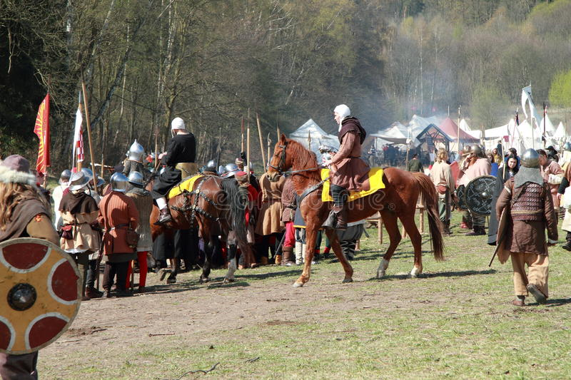 Download Horse Preparing For The Battle Editorial Stock Image - Image: 24465979