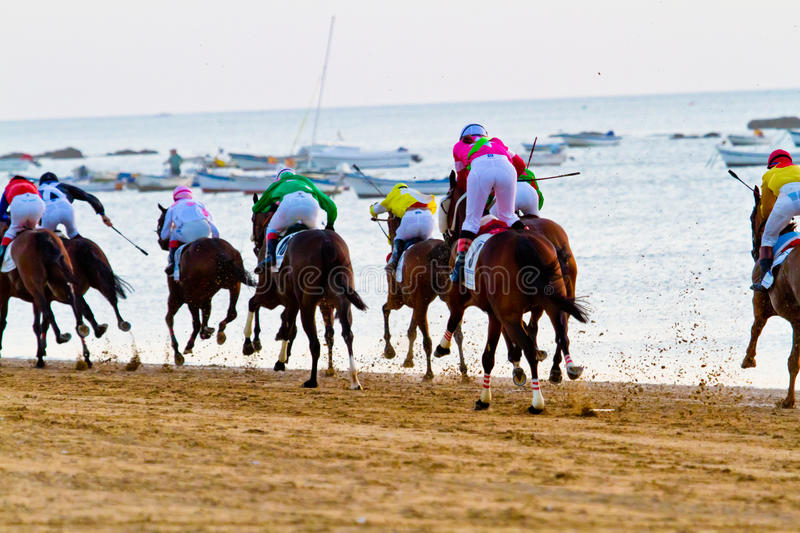 Download Horse Race On Sanlucar Of Barrameda, Spain Editorial Photography - Image: 23090517