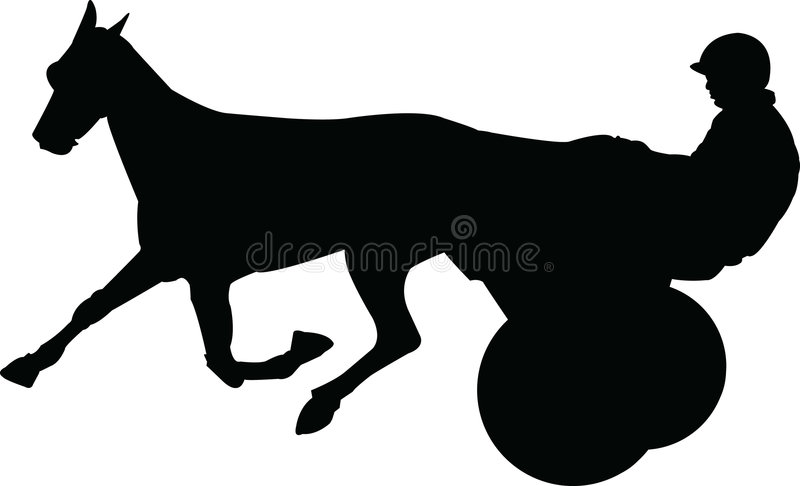 Horse racer stock photography