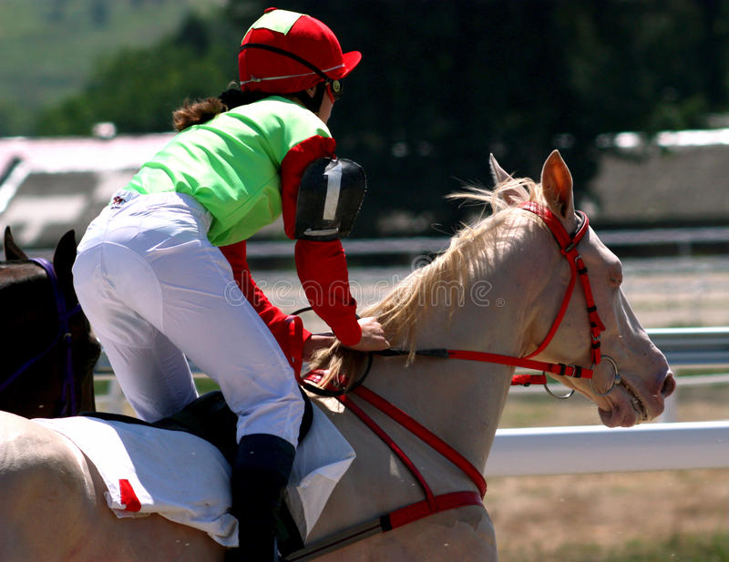 Horse Racing. Hippodrome in Pyatigorsk,Northern Caucasus,Russia royalty free stock images