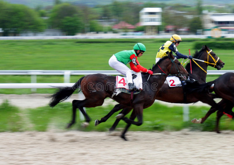 Download Horse racing. editorial stock image. Image of objects - 19613219