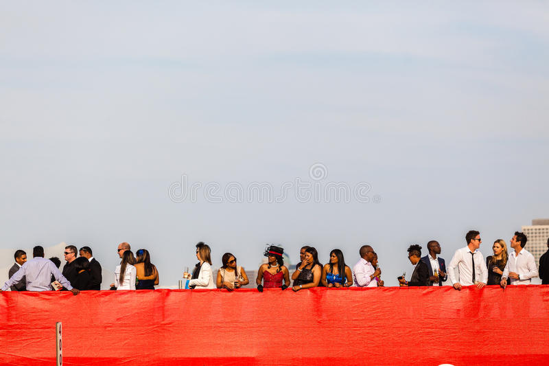 Download Horse Racing Stands Red Public Editorial Stock Photo - Image: 32181738