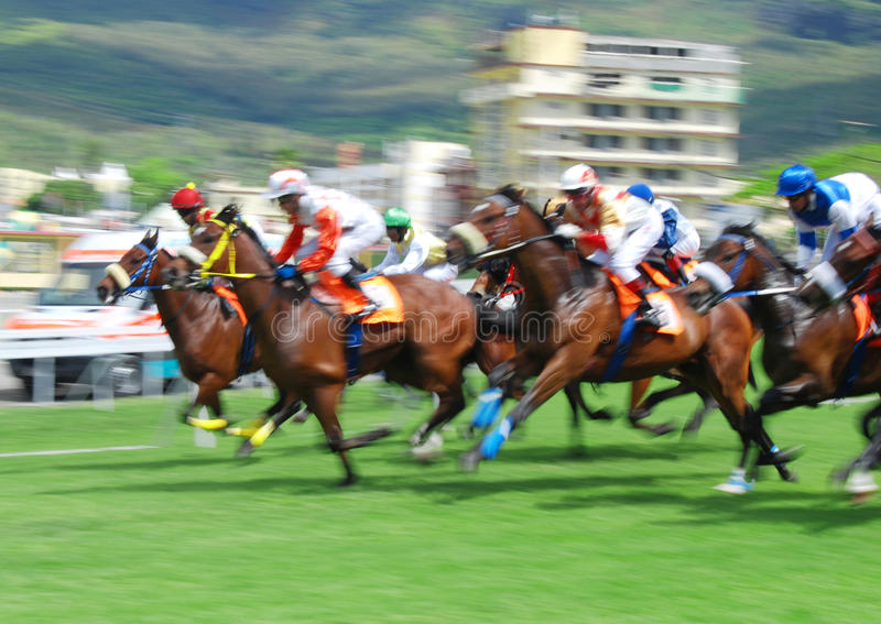 Horse Racing In Mauritius Editorial Photography