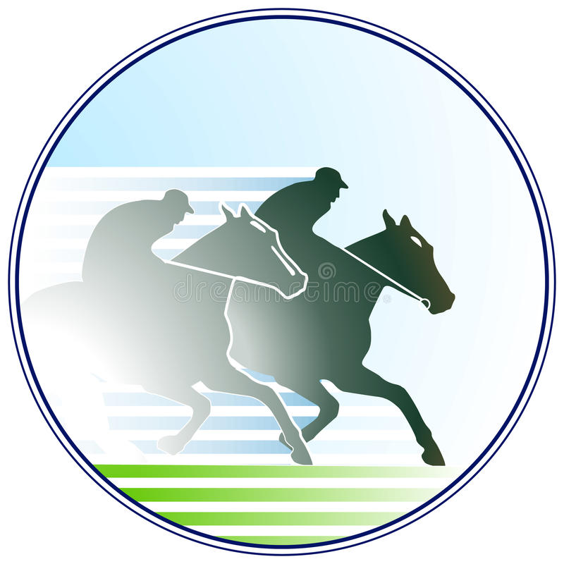 Download Horse-racing sign stock vector. Image of jockey, fast - 17101804