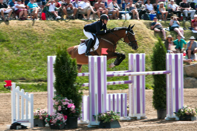 Download Horse Rider At The Bromont Jumping Competition Editorial Image - Image: 20752050