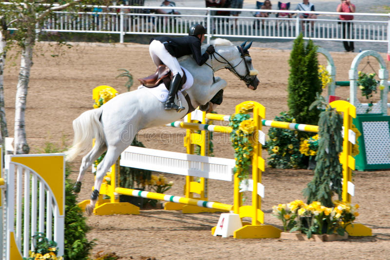 Download Horse Rider At The Bromont Jumping Competition Editorial Image - Image: 20752110